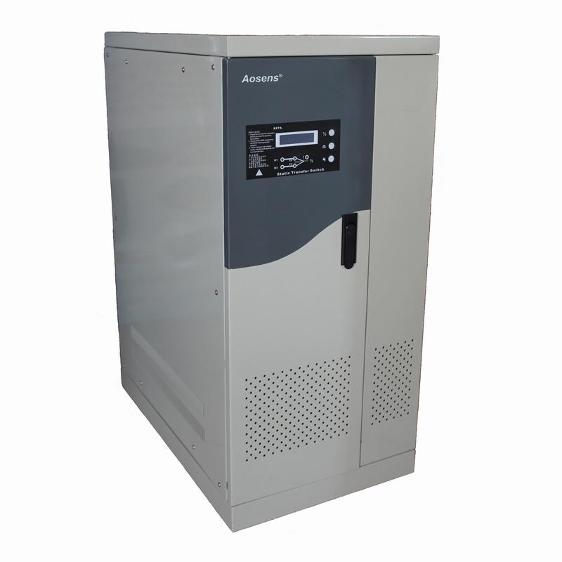 Aosens奥盛三相380V双电源静态切换开关  25A-100A机柜电源插座 AS-RSTS三相移动式