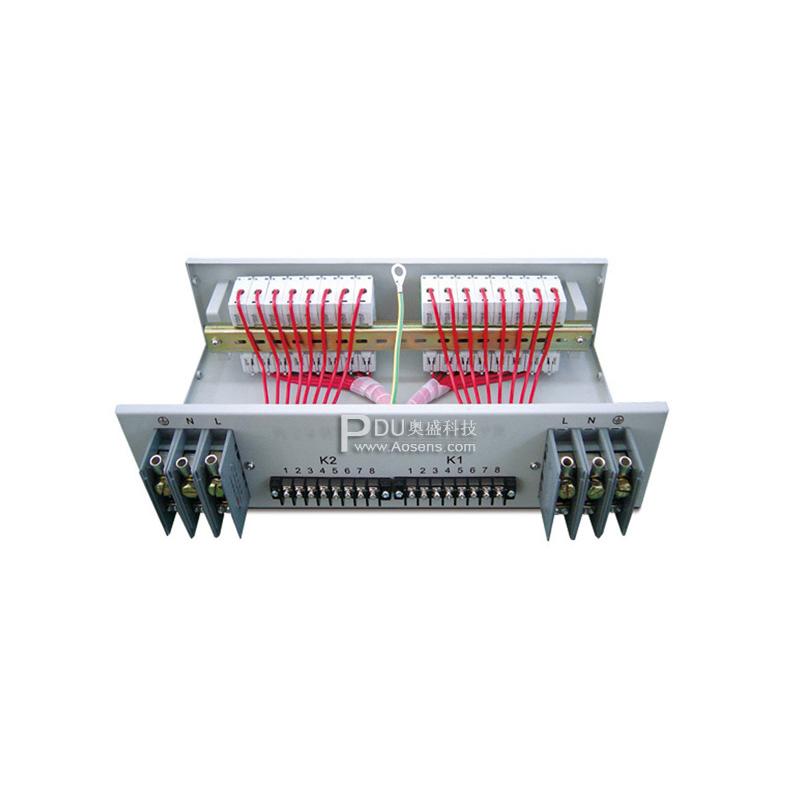 奥盛 Aosens 标准机柜专用大功率 双电源控制分配单元 AS-GM1010N100A/16PB
