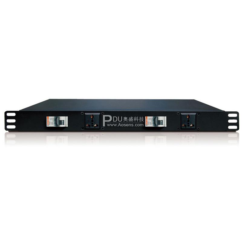 奥盛 Aosens 1U标准机柜专用 双电源控制分配单元 AS-B210N25A30/2H